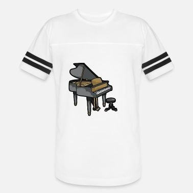 Chamber Music Piano Player Keyboard Organ Chamber Music Symphony - Unisex Vintage Sport T-Shirt