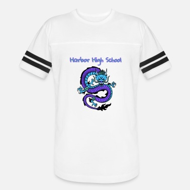 Harbor High School - Unisex Vintage Sport T-Shirt