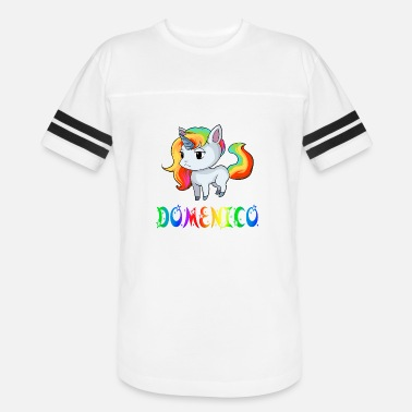 Domenico Domenico Unicorn - Unisex Vintage Sport T-Shirt