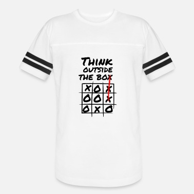 Box Think Outside The Box Creativity - Unisex Vintage Sport T-Shirt