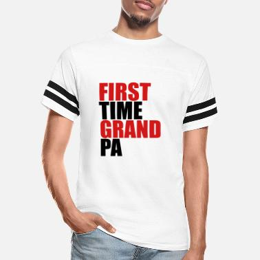First Time The first Grandpa times first time baby - Unisex Vintage Sport T-Shirt