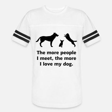 Meet dog people - Unisex Vintage Sport T-Shirt