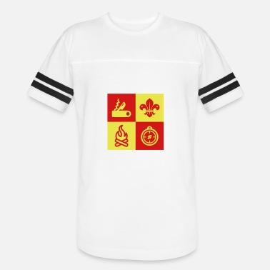Scout Scouting Pfadfinder Guide Scoutisme Men's Premium T-Shirt - white