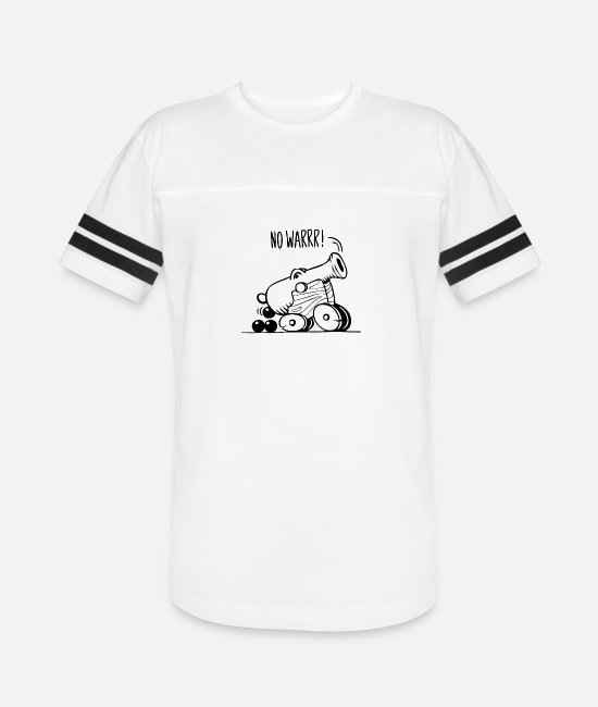 Pop Art T-Shirts - No War - Unisex Vintage Sport T-Shirt white/black