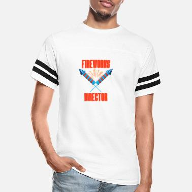 4th of July Fireworks Director Fun Event - Unisex Vintage Sport T-Shirt