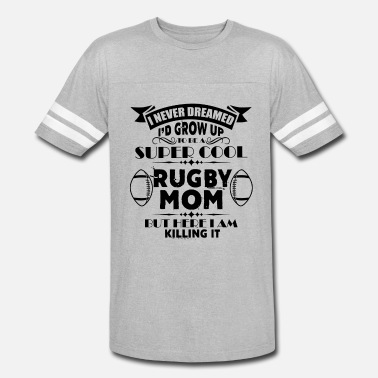 Super Cool Mom Clothes Super Cool Rugby Mom Shirt - Vintage Sport T-Shirt