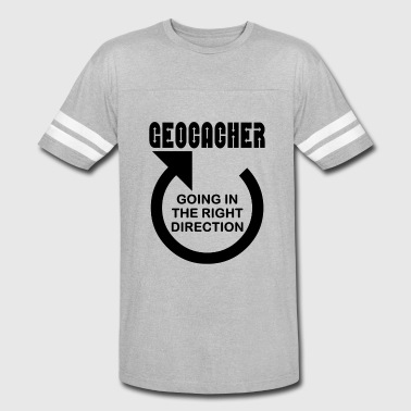 Geocacher Right Direction - Vintage Sport T-Shirt