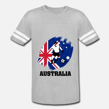 Team Australia Support Australia National Soccer team! - Vintage Sport T-Shirt