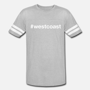 Oregon Coast WEST COAST - Vintage Sport T-Shirt