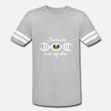 Barbados love my dna dns land country Barbados - Vintage Sport T-Shirt