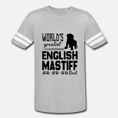 Mastiff Dad English Mastiff Dad Shirt - Vintage Sport T-Shirt