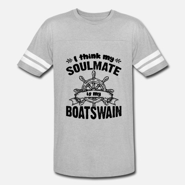 Boatswain Mate Boatswain Is My Soulmate Shirt - Vintage Sport T-Shirt