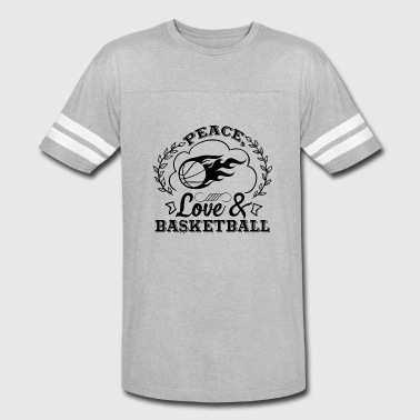 Peace Love And Basketball Shirt - Vintage Sport T-Shirt