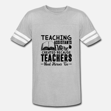 Teaching Hero Teaching Assistant Hero Shirt - Vintage Sport T-Shirt