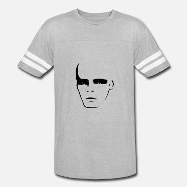 Shadow Face face shadow funny - Vintage Sport T-Shirt