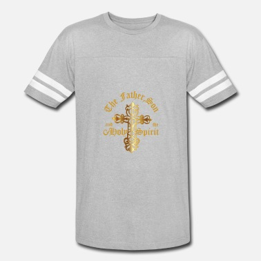 Father Son Holy Spirit The Father, Son & Holy Spirit - Vintage Sport T-Shirt
