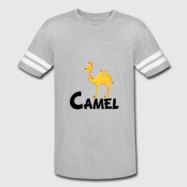 Kids Design Animals Camel Cartoon Camel - Vintage Sport T-Shirt