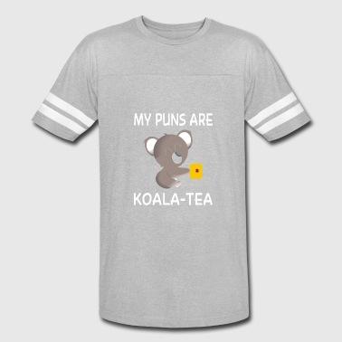 Koala Meme My Puns are Koala Tea - Vintage Sport T-Shirt