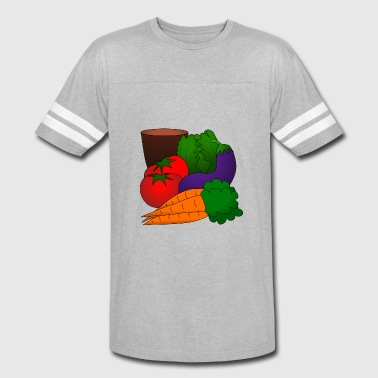 Vegetal vegetables - Vintage Sport T-Shirt