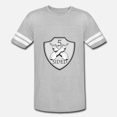 3 Sides 5 sided x 3 - Vintage Sport T-Shirt