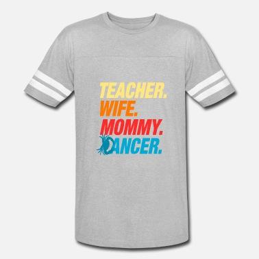 57c1acb25 Teacher Mom Birthday in June July Cancer Zodiac - Unisex Vintage Sport T- Shirt