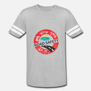 Safety Engineer Road safety - Vintage Sport T-Shirt