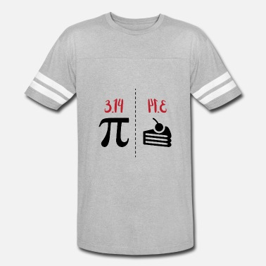 Funny Math math symbols PI and PIE gift idea - Vintage Sport T-Shirt