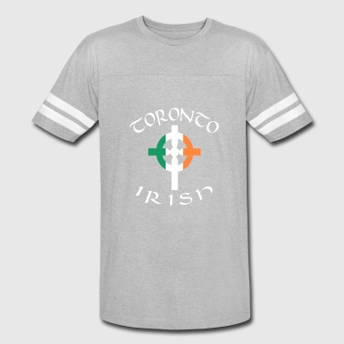 Celtic Pride Ireland Canada Pride Celtic Cross Toronto Irish - Vintage Sport T-Shirt
