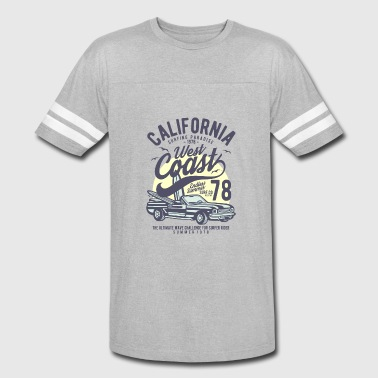 California West Coast2 - Vintage Sport T-Shirt