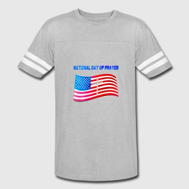 Front National Apparel for National Day Of Prayer National Day Of - Vintage Sport T-Shirt