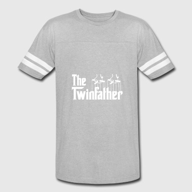 Dad Of Twins Gift Funny The Twin Father shirts - Twin Dad gifts - - Vintage Sport T-Shirt