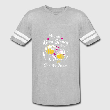 39 Year Anniversary We've Been Honey For 39 Years Wedding Anniversary - Vintage Sport T-Shirt