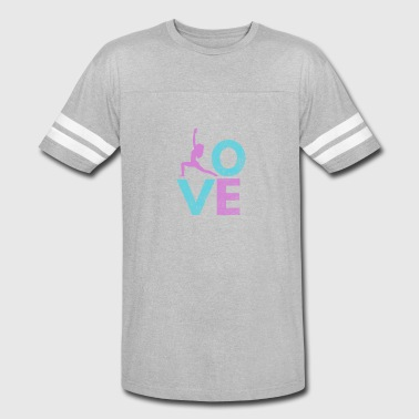 Yoga Stickers Yoga Love gift for Yoga lovers - Vintage Sport T-Shirt