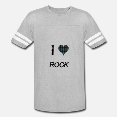 I Love Rock I Love Rock for the Proud - Vintage Sport T-Shirt