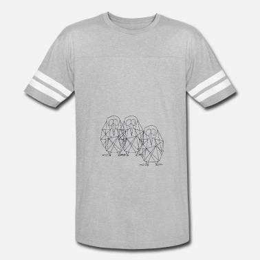 Origami Lover Penguins Origami Style - Vintage Sport T-Shirt