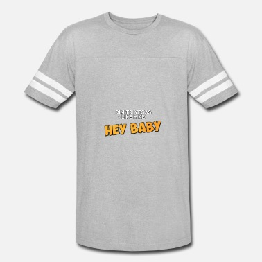 4d1ac664f4bb73 Dimitri Vegas And Like Mike Dimitri Vegas  amp  Like Mike - Hey Baby -  Unisex. Unisex Vintage Sport T-Shirt