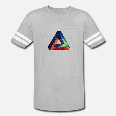 Uv Techno Unique Spacy Impossible Triangle - Vintage Sport T-Shirt