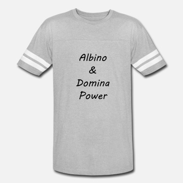 Domina Albino and Domina Power black - Unisex Vintage Sport T-Shirt