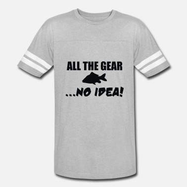 Couples Gear All The Gear No Idea - Unisex Vintage Sport T-Shirt