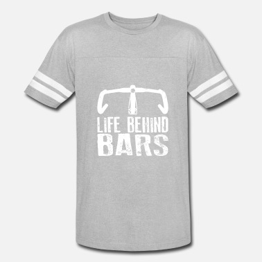 The Cycle Of Life Life Behind Bars Cycling - Vintage Sport T-Shirt