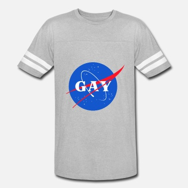 Gay Pride Parade Nasa Gay Pride Logo - Vintage Sport T-Shirt