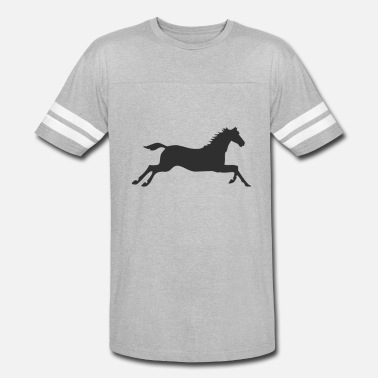 Gallop Horse at a gallop - Unisex Vintage Sport T-Shirt