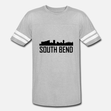South Bend Indiana South Bend Indiana City Skyline - Vintage Sport T-Shirt
