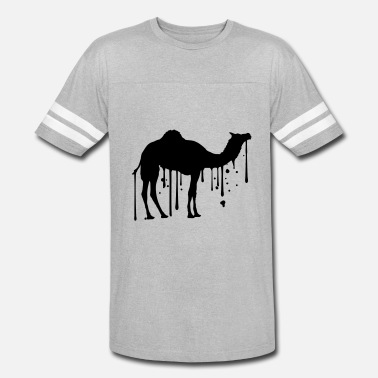 Sweat Graffiti melt hot sweat drops graffiti spray stamp camel si - Vintage Sport T-Shirt