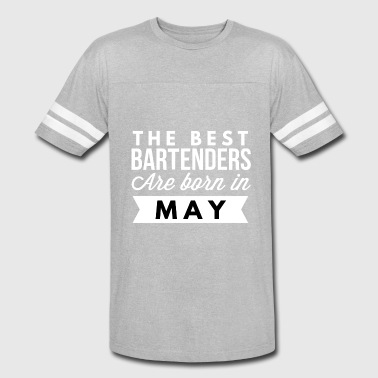 Best Born The best Bartenders are born in May - Vintage Sport T-Shirt