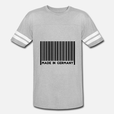 Scanner Girl Barcode Made in Germany - Vintage Sport T-Shirt