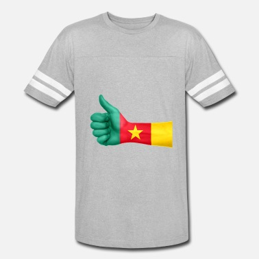 Cameroon cameroon - Unisex Vintage Sport T-Shirt