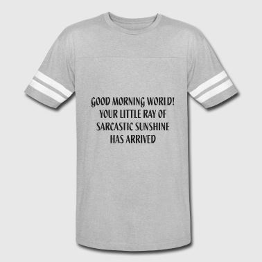 Little Sunshine Little Ray Of Sarcastic Sunshine - Vintage Sport T-Shirt