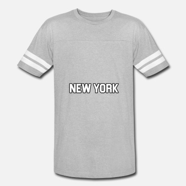 New York Yankee New York Yankee - White - Vintage Sport T-Shirt