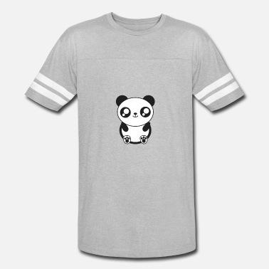 459b5428f Cute panda panda bear - Unisex Vintage Sport T-Shirt